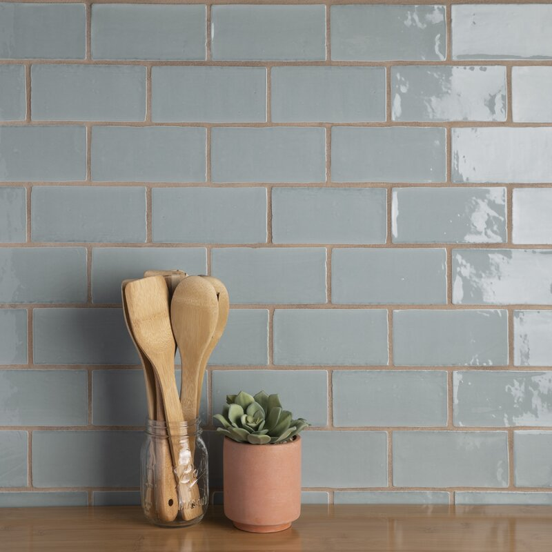 "Tivoli 3"" x 6"" Ceramic Subway Tile"