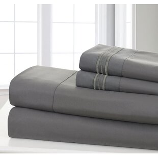 Maximiliano Soft 1200 Thread Count Solid Sheet Set