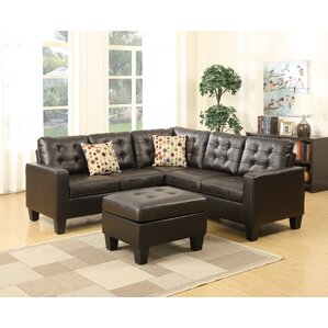 Bobkona Claudia Sectional by Poundex