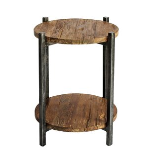 Read Reviews Oakwood End Table By Loon Peak