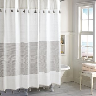 Gray Silver Shower Curtains
