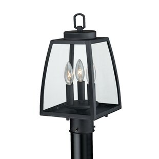 Bargain Silver Gulch  Outdoor 3-Light Lantern Head By Red Barrel Studio