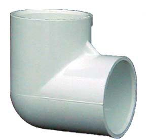 GenovaProducts PVC-DWV Clean-Out Fitting with Threaded Plu (Set of 10) Size: 0.75