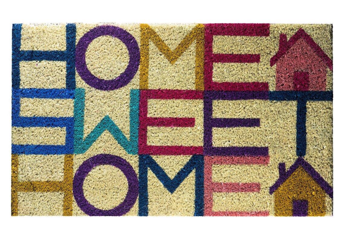 hokku designs fu matte home sweet home. Black Bedroom Furniture Sets. Home Design Ideas