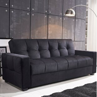 Ferrell Storage and Pocket Coil Spring Cushion Sleeper by Ebern Designs