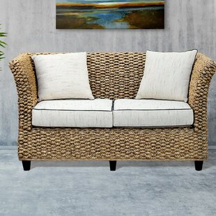 Shop Water Hyacinth Rome Loveseat by Chic Teak