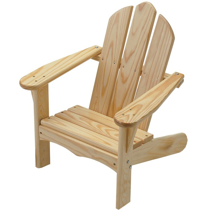 Tremendous Arielle Childs Solid Wood Adirondack Chair Creativecarmelina Interior Chair Design Creativecarmelinacom