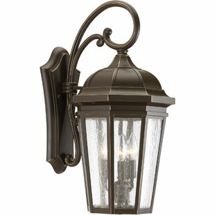 Edgewater Traditional 3-Light Outdoor Wall Lantern