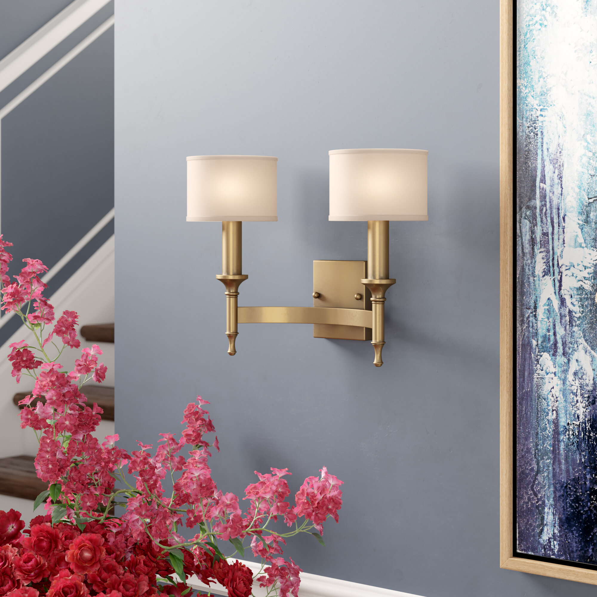 2 Antique Bronze Wall Sconces You Ll Love In 2021 Wayfair