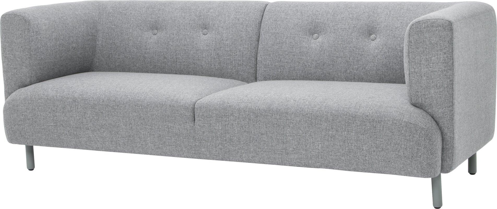 wade logan bakos classic modern chesterfield sofa  reviews  wayfair - defaultname