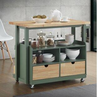 Innaloo Kitchen Cart by Latitude Run