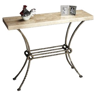 Slate stone console tables youll love wayfair kendal console table watchthetrailerfo