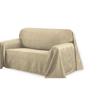 Medallion Box Cushion Sofa Slipcover by Bell..