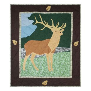 Looking for Elk Cotton Crib Quilt ByPatch Magic