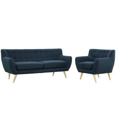 Outstanding Langley Street Meggie 2 Piece Living Room Set Ibusinesslaw Wood Chair Design Ideas Ibusinesslaworg