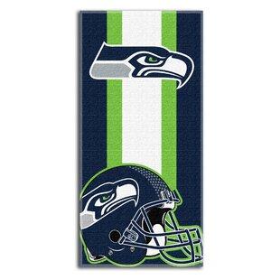 NFL Zone Read Beach Towel