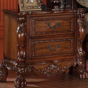 Best Reviews Welliver 2 Drawer Nightstand By Astoria Grand
