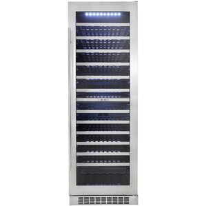 129 Bottle Silhouette Dual Zone Built-In Wine Cooler by Danby