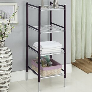 Compare prices Duplex 14 W x 39.5 H Bathroom Shelf By Organize It All