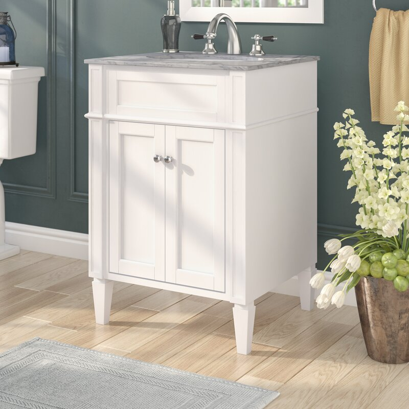 Birch Lane 24 Single Bathroom Vanity Set Reviews Wayfair