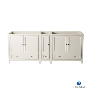 Reviews Oxford 83 Double Bathroom Vanity Base Only By Fresca