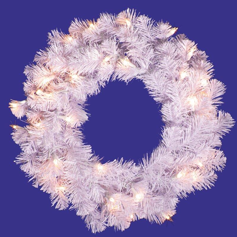 Hashtag Home Pre Lit Crystal Wreath Reviews