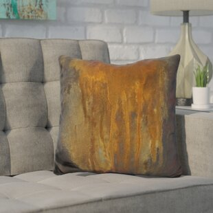 Harkins Rusted Falls Throw Pillow by Wrought Studio Wonderful