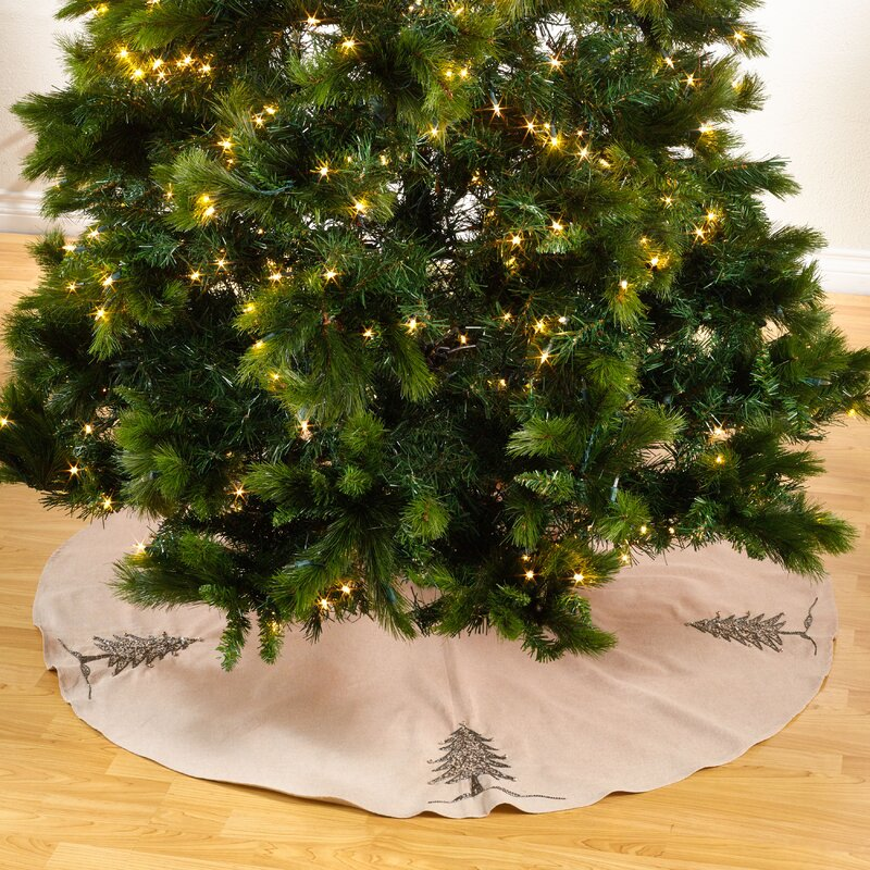 sapin de noel round beaded christmas tree skirt - Cheap Christmas Tree Skirts