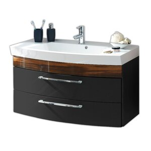 100 cm Waschbeckenunterschrank Rima von Belfry Bathroom