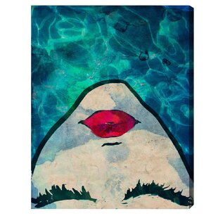 Water coveted Fashion Art' Wrapped Canvas Print By Oliver Gal