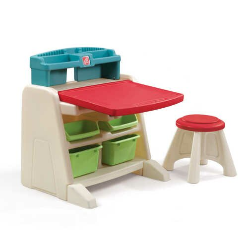 step2 flip and doodle easel desk with stool reviews wayfair