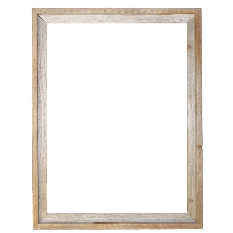 RusticDecor Barn Wood Reclaimed Wood Signature Open Frame & Reviews ...