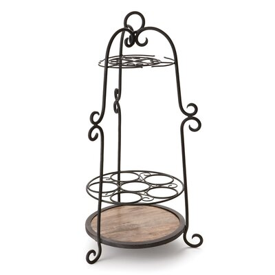 Brick and Trellis Clement Bottle Caddy Napa Home and Garden