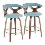 Altigarron 25 Swivel Bar Stool (Set of 2) by Corrigan Studio®