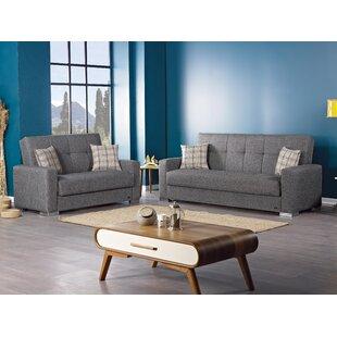 Bozhanka 2 Piece Sleeper Living Room Set