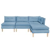 Carwile Reversible Modular Sectional with Ottoman by Corrigan Studio®