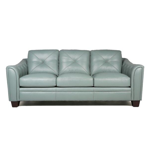 Fine italian leather furniture Natuzzi Leather National Furniture Supply Italian Top Grain Leather Sofa Wayfair