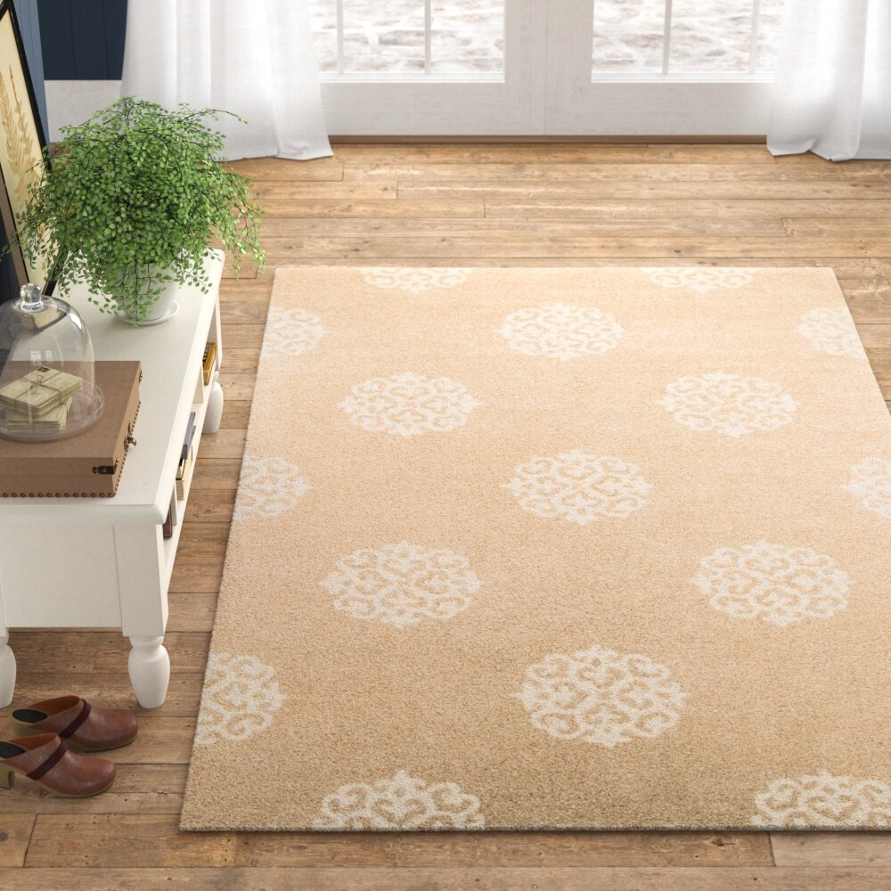 Middleton Hand Tufted Wool Beige Ivory Area Rug Reviews Birch Lane