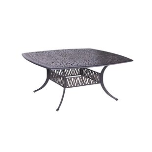 Bean Square Dining Table by Fleur De Lis Living Fresh