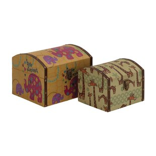 Read Reviews Wood/Canvas 2 Piece Box Set ByCole & Grey