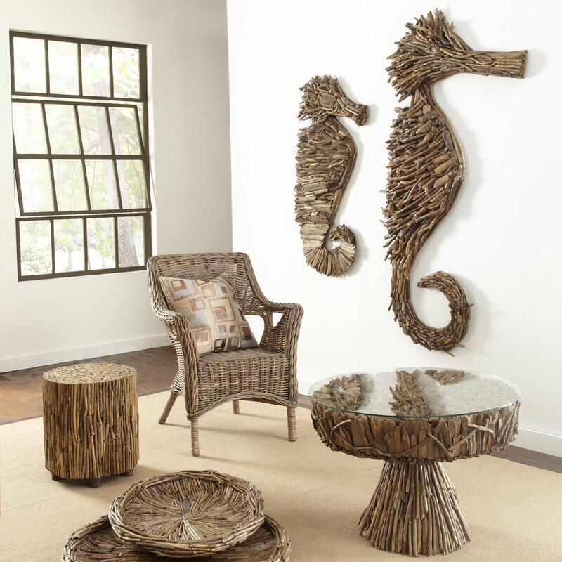 Ibolili Driftwood Seahorse Wall Decor