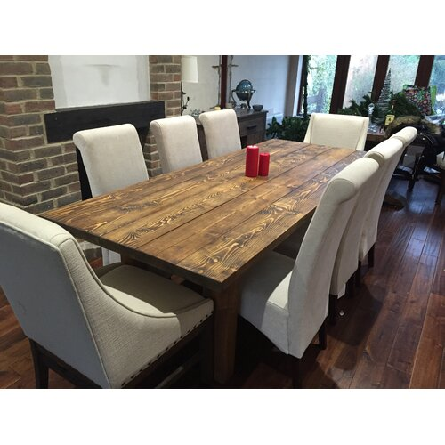 Bundyhill Dining Table Union Rustic Size: H74 x L100 x W78cm