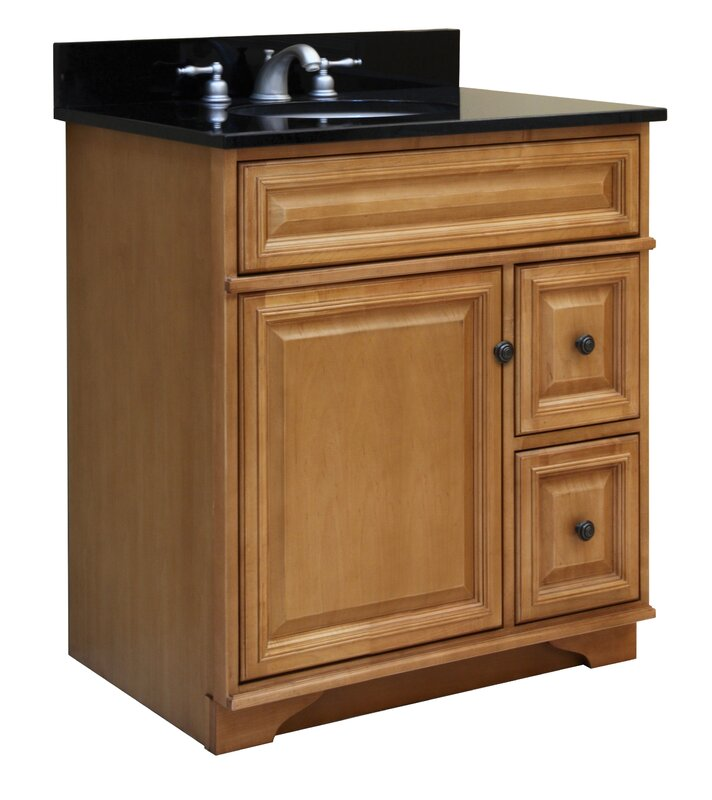 "Empire Industries Madison 30 Bathroom Vanity sunny wood briarwood 30"" bathroom vanity base 