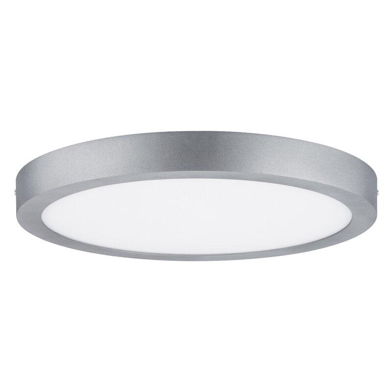 Paulmann lunar 1 light led flush ceiling light wayfair lunar 1 light led flush ceiling light aloadofball Images