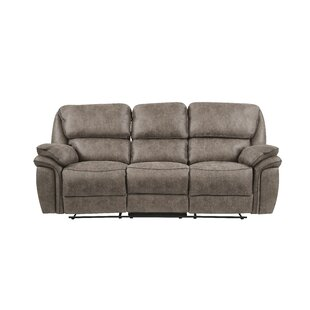 Sareah Extra Plush Reclining Sofa Red Barrel Studio