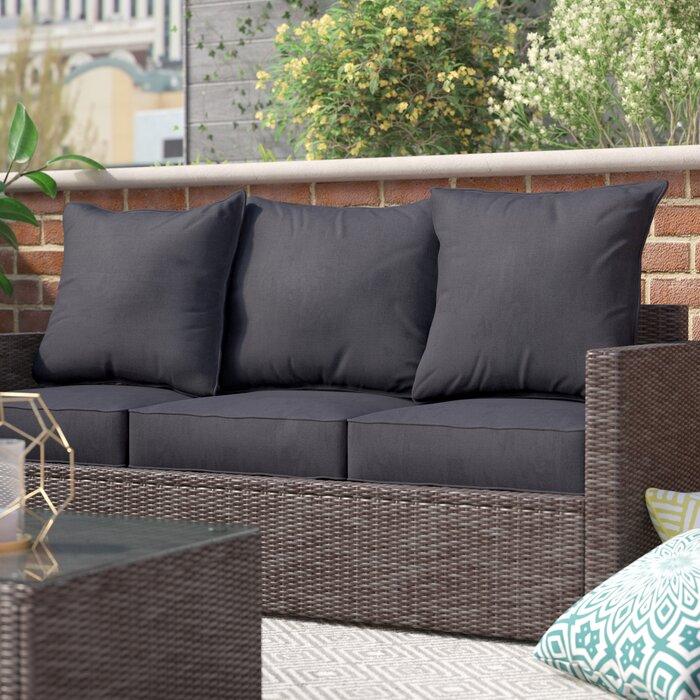 Stupendous Pellot Indoor Indoor Outdoor Loveseat Cushion Short Links Chair Design For Home Short Linksinfo