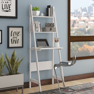 Morrell Floor Shelf Ladder Desk by Wrought Studio Great price