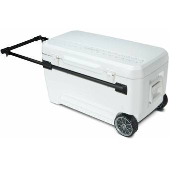 Black a Picnic Time brand Michigan State Spartans Rolling Cart Cooler, ONIVA