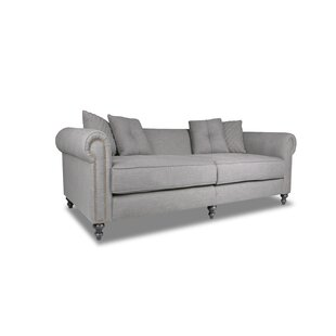 Etchison Plush Deep Chesterfield Loveseat