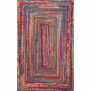 Deals Kistler Hand-Braided Multi Area Rug By Zipcode Design